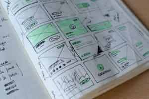 sketches of design ideas